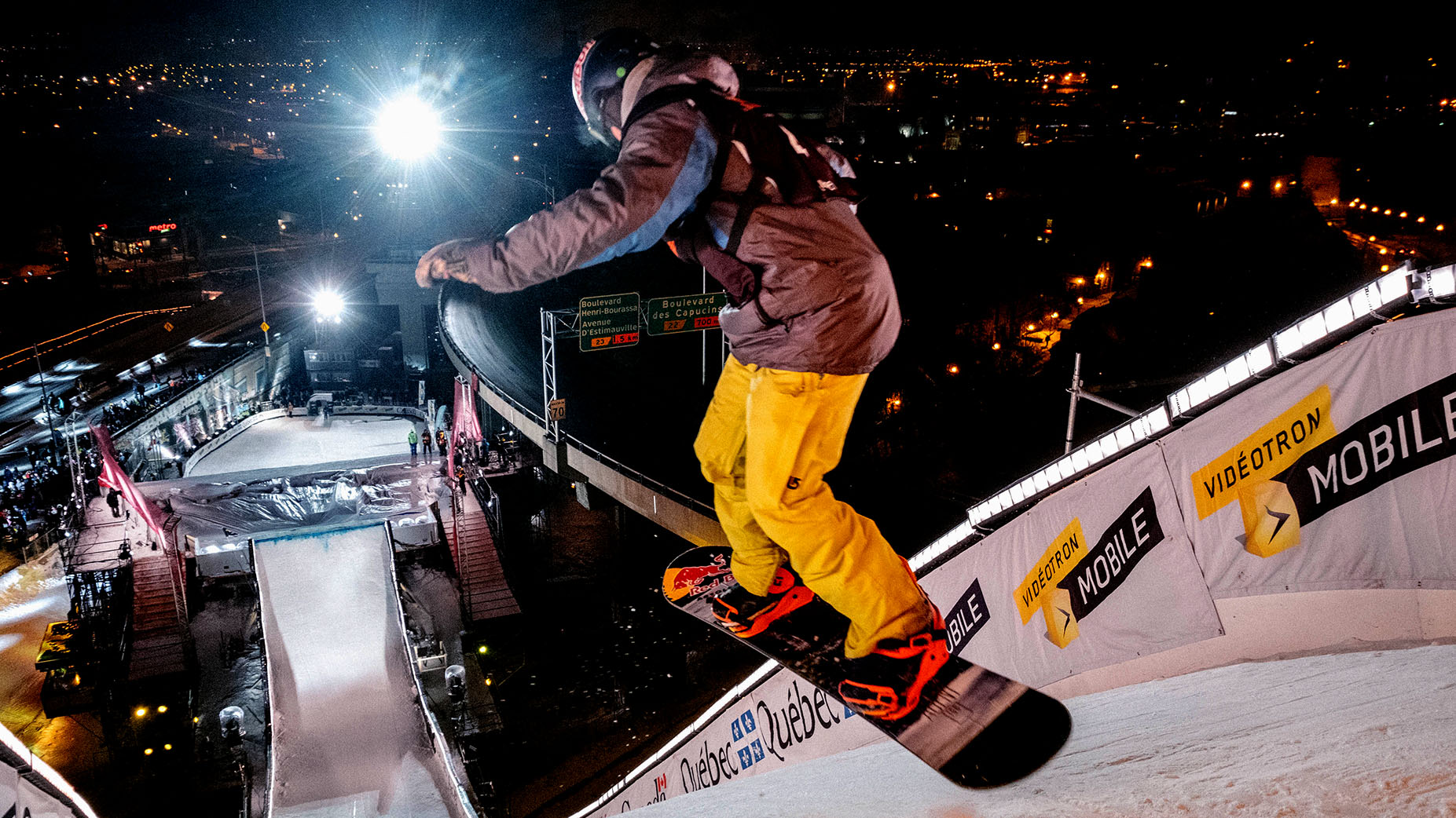 FIS Snowboard World Cup 2016 Quebec City, Canada